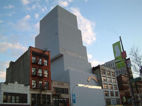 美国纽约新当代艺术博物馆