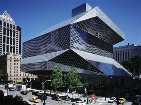美国西雅图中央图书馆