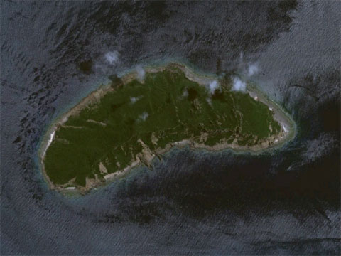Google地图上的钓鱼岛地图