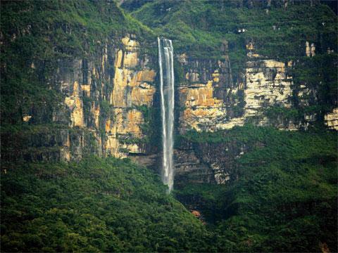 秘鲁戈克塔瀑布