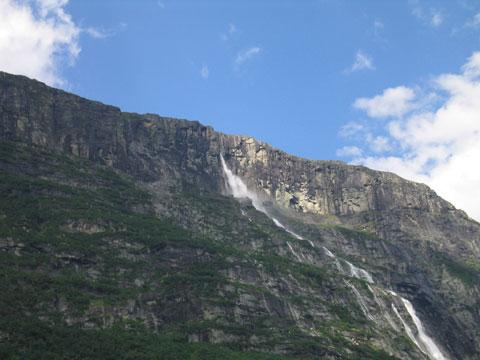 挪威韦奴弗森瀑布