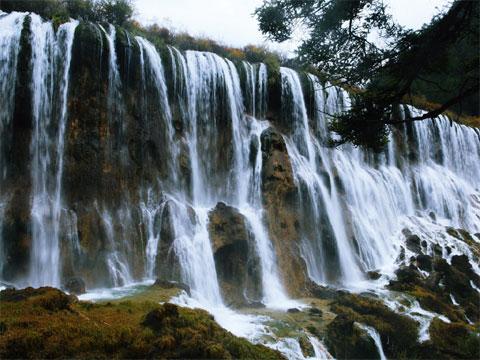 四川诺日朗瀑布