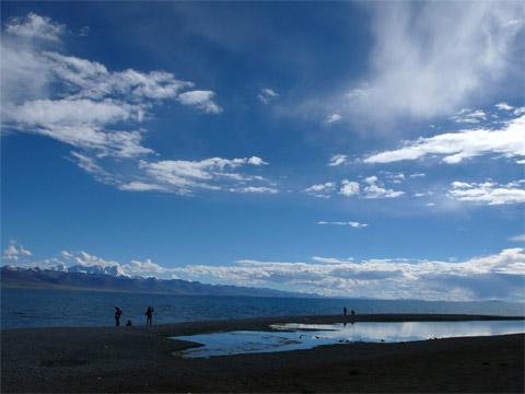 西藏纳木错湖