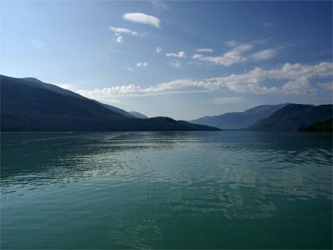 新疆喀纳斯湖