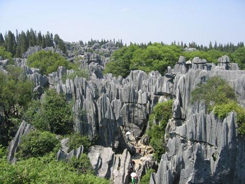 中国昆明石林