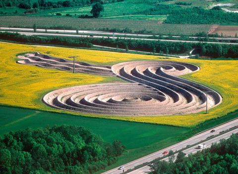 慕尼黑机场附近的地景艺术