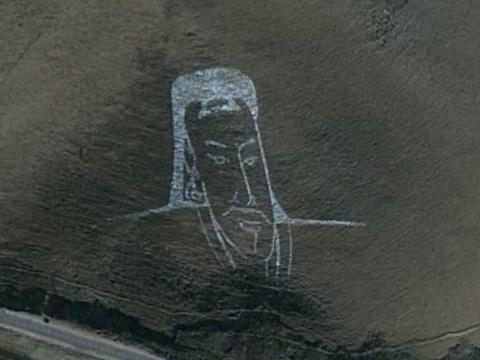 蒙古乌兰巴托成吉思汗画像