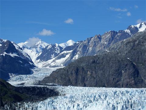 阿拉斯加的冰河湾