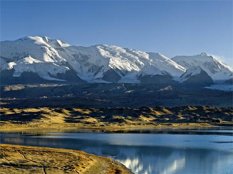 新疆喀拉库勒湖