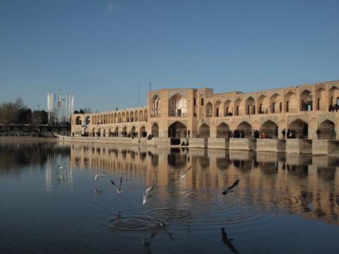 伊朗伊斯法罕:郝久古桥