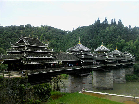 中国三江县:程阳风雨桥