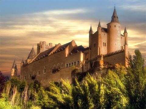 西班牙塞哥维亚城堡