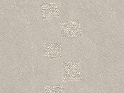 新疆沙漠上的神秘图案