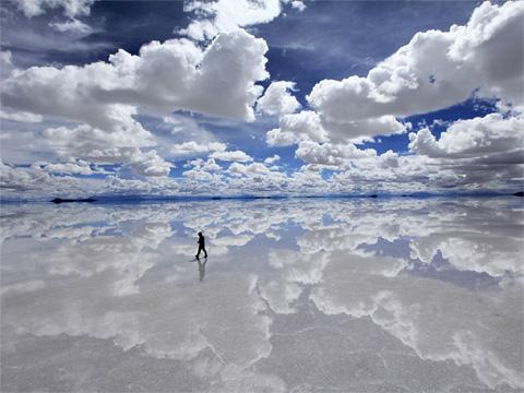 玻利维亚乌尤尼盐沼