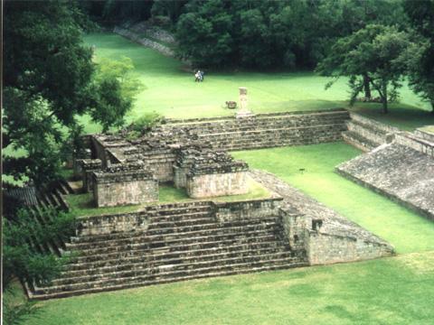洪都拉斯科潘玛雅遗址