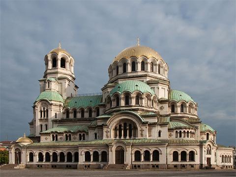 保加利亚索菲亚亚历山大·涅夫斯基大教堂