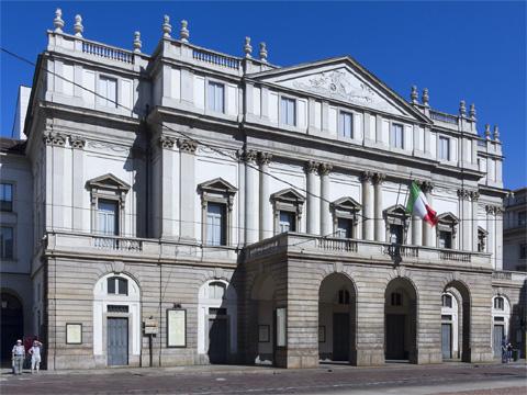 意大利米兰斯卡拉大剧院