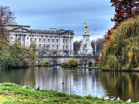 英国伦敦圣詹姆斯公园