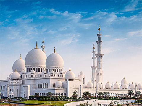 阿联酋阿布扎比谢赫扎耶德大清真寺