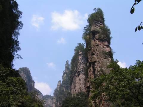 陈佐博客之湖南张家界游记 张家界旅游 第12张