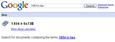 Google数字转换和货币转换搜索技巧