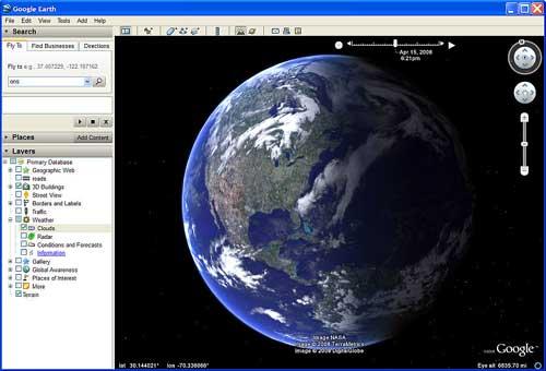 谷歌地球软件