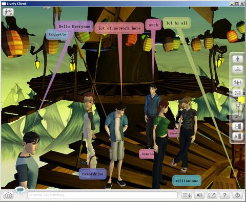 Google发布Lively虚拟世界