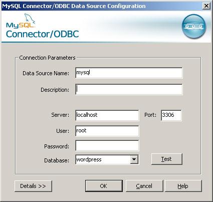 MySQL ODBC Connector