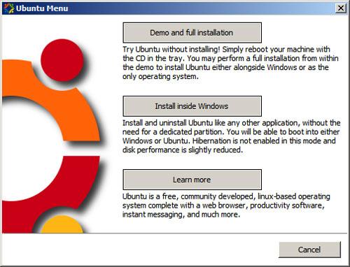 Ubuntu Wubi