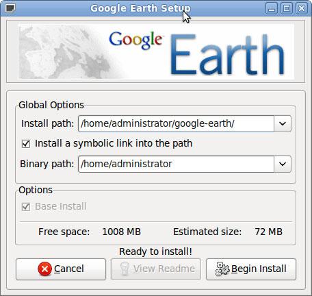 Google Earth安装