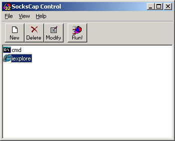 Sockscap64 Makes your Programs Support Socks Proxy - SourceForge
