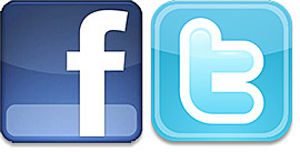 Facebook和Twitter