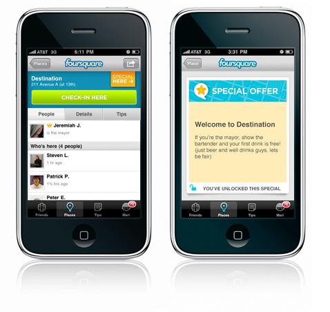 Foursquare应用