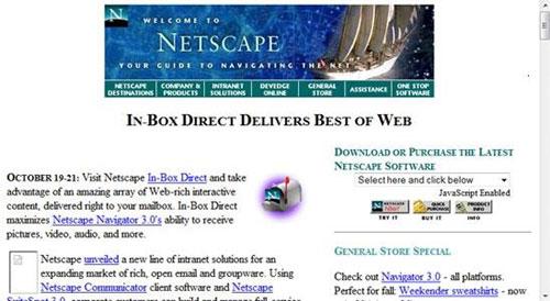 Netscape -网景