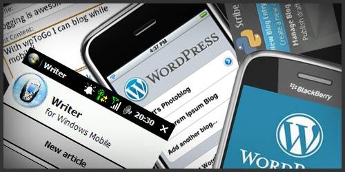 管理WordPress博客手机软件集锦