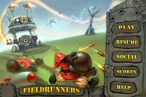 炮塔防御(Fieldrunners)