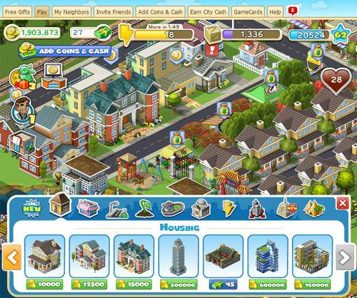 CityVille游戏特色和攻略秘籍