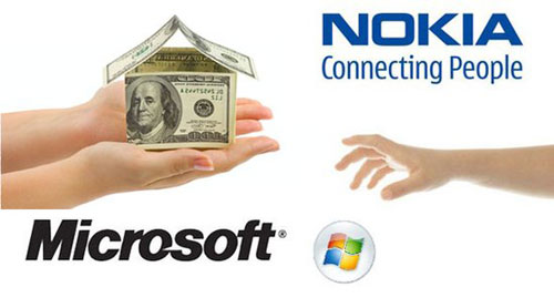 诺基亚为什么选择微软