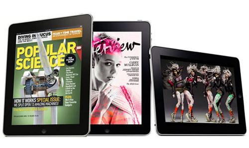 iPad上的杂志