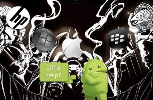 Google和Android的专利纷争
