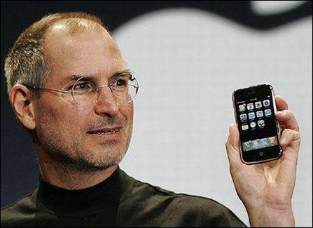 苹果CEO史蒂夫·乔布斯辞职
