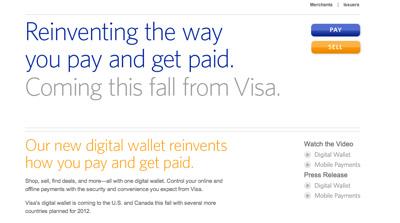 Visa主宰移动支付和数字钱包的计划