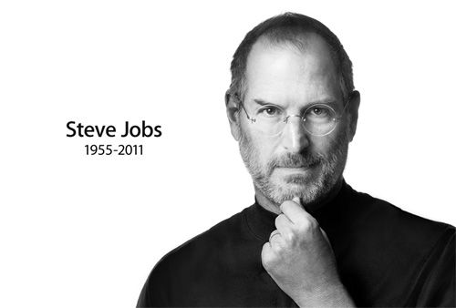 苹果前CEO史蒂夫·乔布斯辞世