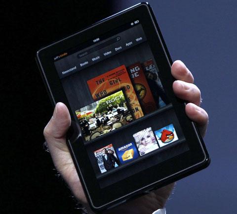 图4 亚马逊的 Kindle Fire 仅允许通过自带的市场安装应用