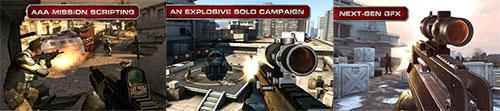 Modern Combat 3: Fallen Nation (现代战争3:堕落国度)