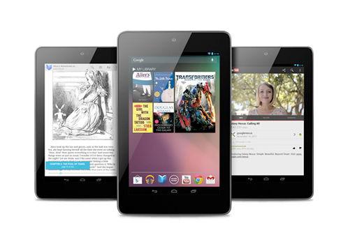 谷歌Nexus 7平板电脑
