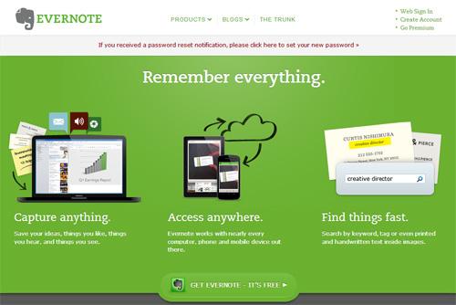 Evernote遭黑客攻击用户信息泄漏
