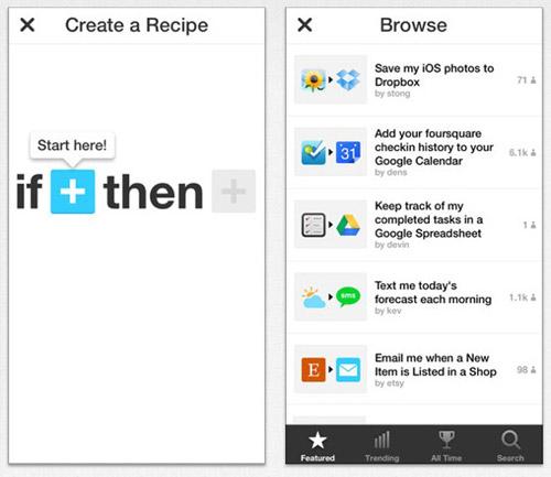 IFTTT推出iPhone应用