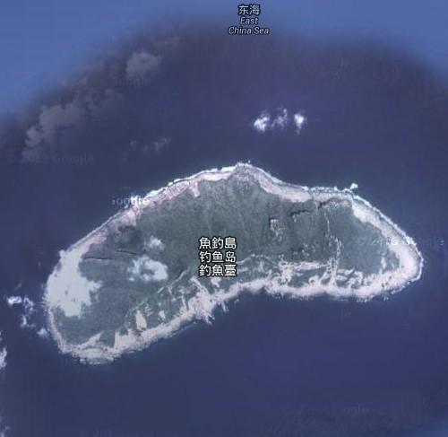 谷歌地图用中方名称标识钓鱼岛被日本禁用