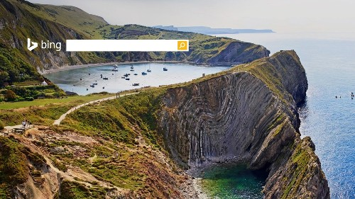 英国拉尔沃思湾侏罗纪海岸